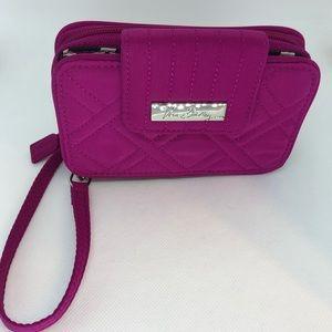 Vera Bradley pink wristlet NWOT